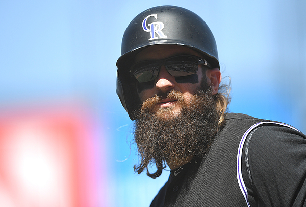 Charlie Blackmon Photograph by Thearon W. Henderson