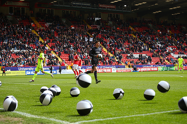 Charlton Athletic v Brighton and Hove Albion - Sky Bet Championship Photograph by Jordan Mansfield