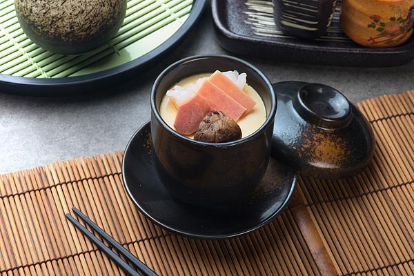 Chawanmushi, Steamed Egg Custard, Japanese Food Photograph by Yuliang11