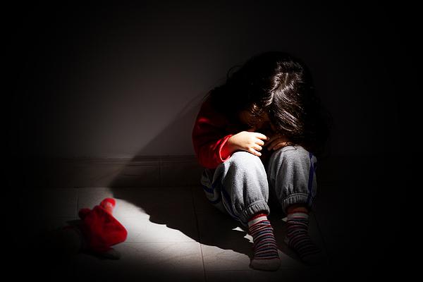 Childhood problems - Child abuse Photograph by Giuda90