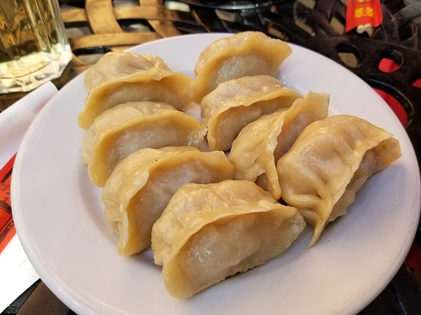 Chinese Dumplings Photograph by Gado Images