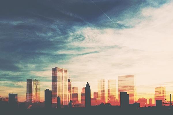 City At Sunset Photograph by Melanie Langer / EyeEm