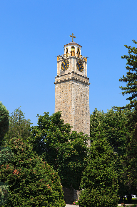 Clock Tower Of Bitola Photograph by Syolacan