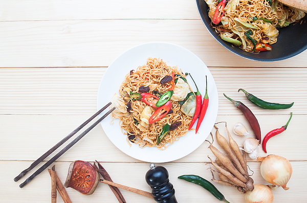 Close-Up Of Food On Table Photograph by Supreeya Chantalao / EyeEm