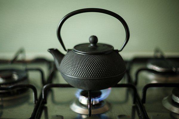Close-up Of Kettle On Stove Photograph by Alessandro Miccoli / EyeEm