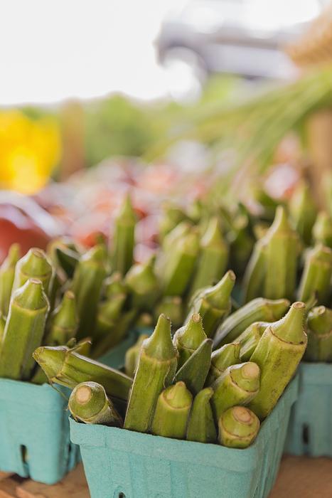 Close up of produce at farmers market Photograph by Mark Edward Atkinson