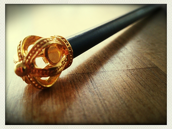 Close-up of scepter on wood Photograph by Roman Pretot / EyeEm
