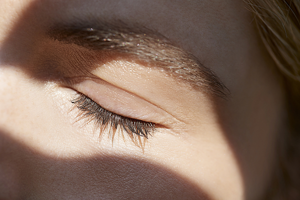Close up of womans eye Photograph by Plume Creative
