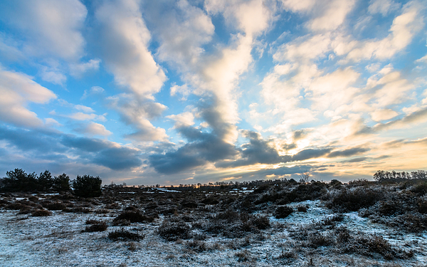 Cloudy Sky Photograph by William Mevissen