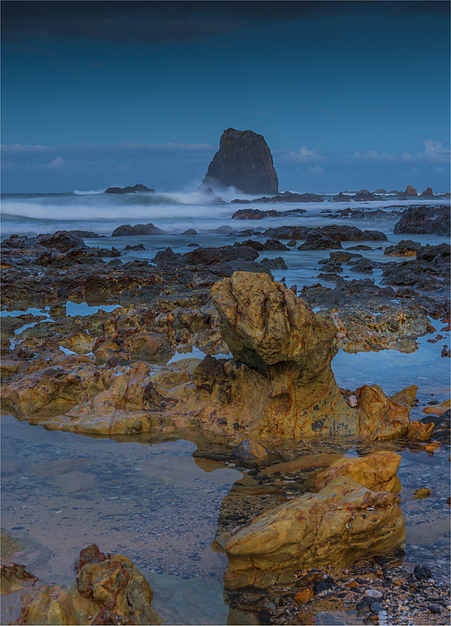 Coastal view at Narooma, southern coastline of New South Wales, Australia. Photograph by Southern Lightscapes-Australia
