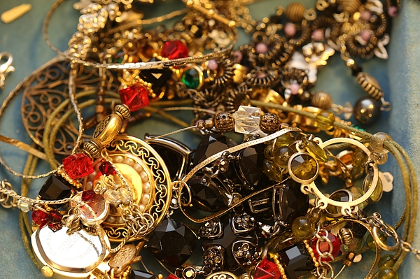 Collection of Jewelry Photograph by Douglas Sacha