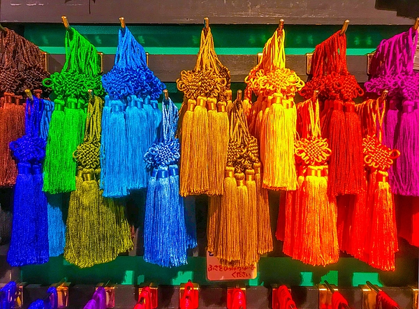 Colorful Chinese style tassels Photograph by DigiPub