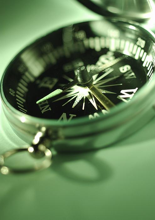 Compass, close-up. Photograph by Laurent Hamels