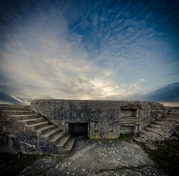 Concrete Defence Photograph by s0ulsurfing - Jason Swain