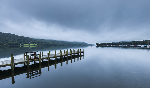Coniston Water at dawn Photograph by © Ian Laker Photography