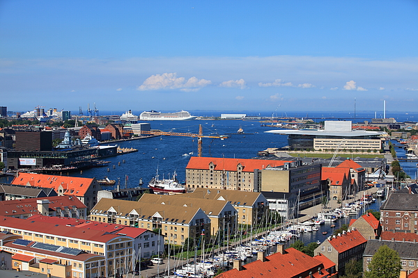 Copenhagen Waterfront Photograph by Pejft