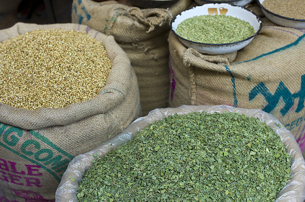 Coriander Seeds and Fenugreek, India Photograph by Tim Graham