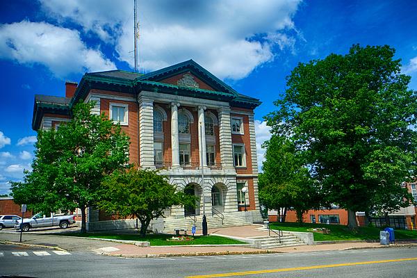 Courthouse in Bangor, Maine Photograph by L. Toshio Kishiyama