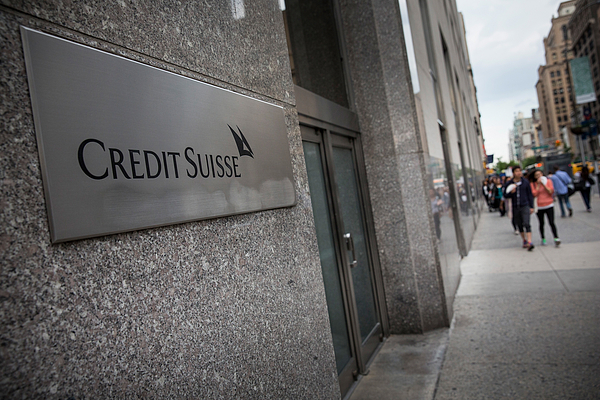 Credit Suisse Charged With Helping US Clis Photograph by Andrew Burton