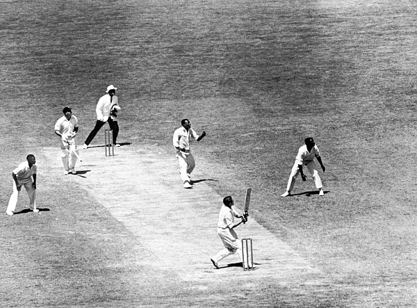 Cricket - Frank Worrell Trophy - Fifth Test - Australia v West Indies - Fourth Day - Melbourne Cricket Ground Photograph by PA Images Archive