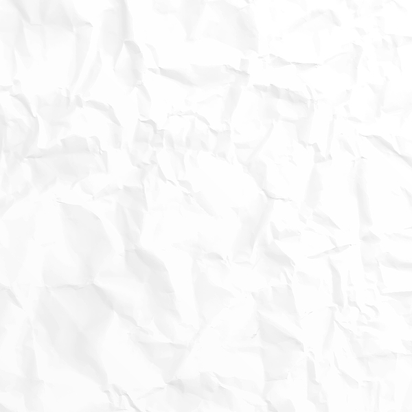 Crumpled white paper texture - Background Drawing by Bgblue