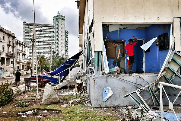 Cuba Begins Recovery After Hurricane Irma Photograph by Sven Creutzmann/Mambo Photo