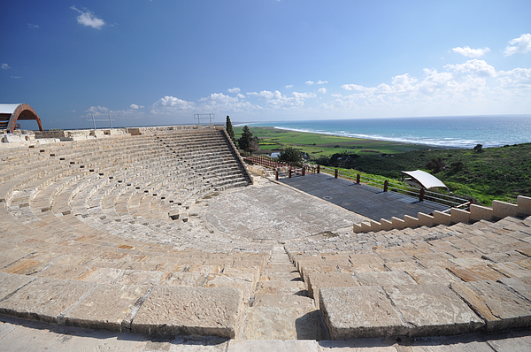 Curium ampitheatre Photograph by Clare Mansell