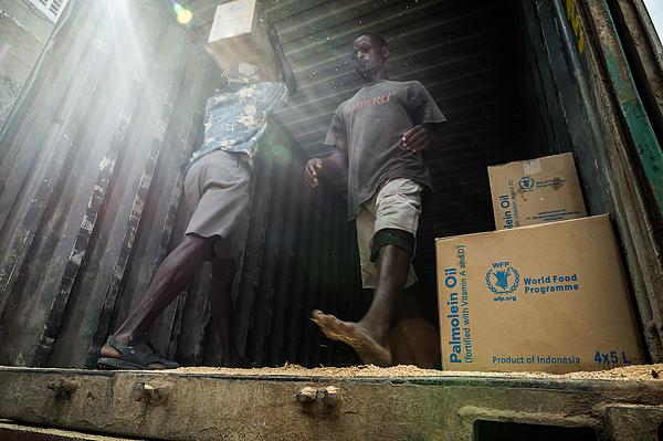 Daily Life at the World Food Program, Mombasa, Kenya Photograph by Alessandro Rota