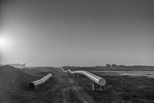 Dakota Access Pipeline Construction Photograph by Sinisa Kukic