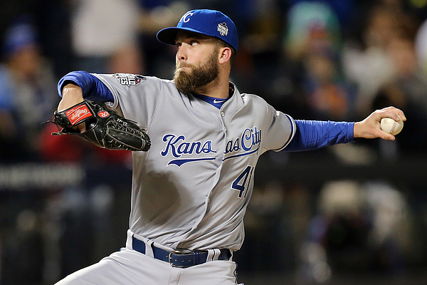 Danny Duffy Photograph by Doug Pensinger