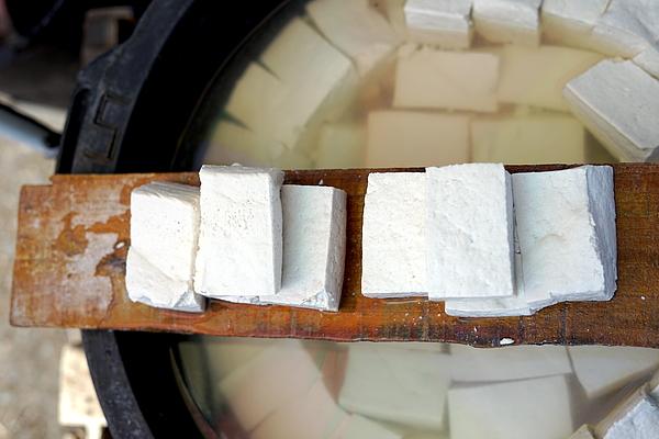 Delicious Hard tofu cubes Photograph by Heri Mardinal