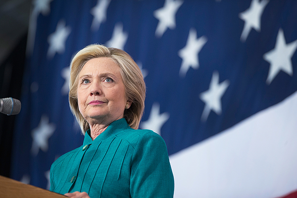 Democratic Presidential Candidate Hillary Clinton Campaigns In Iowa Photograph by Scott Olson