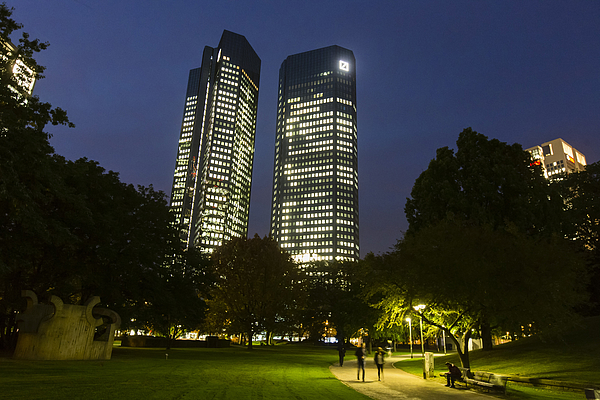 Deutsche Bank AG Headquarters And Branches Ahead Of Strategy Announcement Photograph by Bloomberg