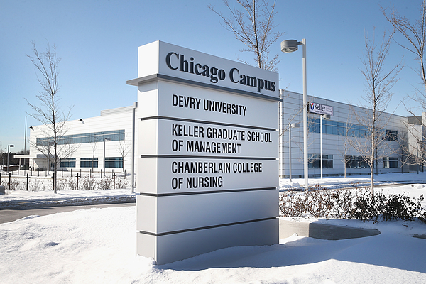 DeVry University Closes Chicago-Area Campuses After E-mail Threat Photograph by Scott Olson