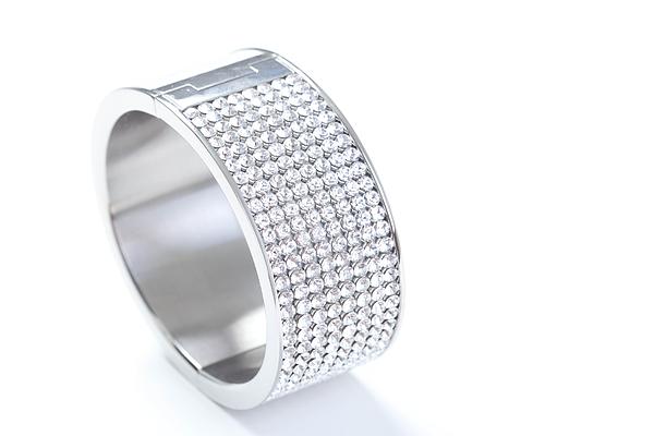 Diamond Bracelet Photograph by Vitapix
