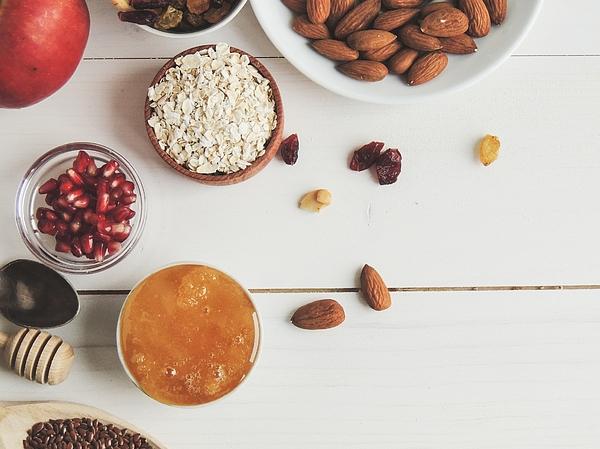 Directly Above Shot Of Food On Table Photograph by Oksana Tabalyuk / EyeEm