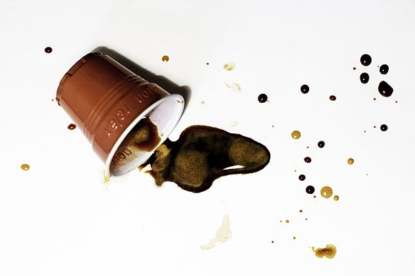 Disposable cup Photograph by Ciro Esposito