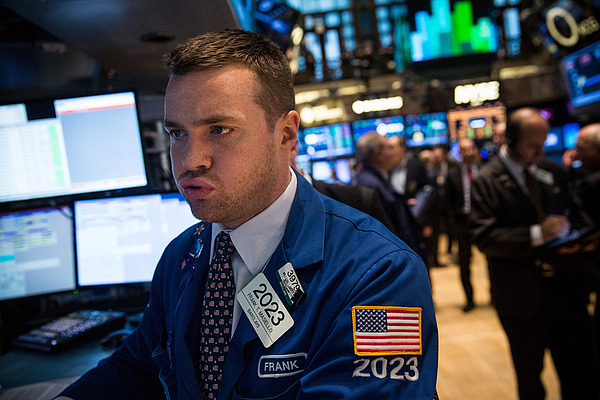 Dow Continues To Hit Record Highs On Hopes For Yellens Policies Photograph by Andrew Burton