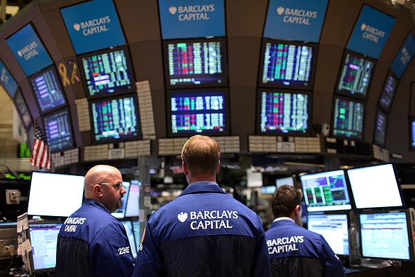 Dow Jones Industrial Average Nears 11,000 Mark Photograph by Spencer Platt
