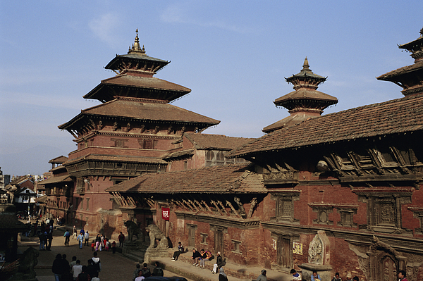 Durbar Square, Patan, Kathmandu Valley, Nepal, Asia Photograph by David Poole / robertharding
