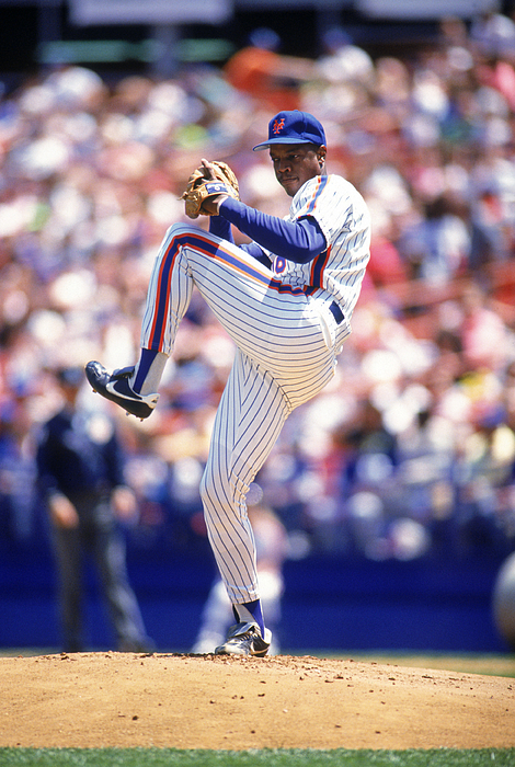 Dwight Gooden Photograph by Lonnie Major