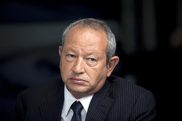 Egyptian Billionaire Naguib Sawiris Photograph by Bloomberg