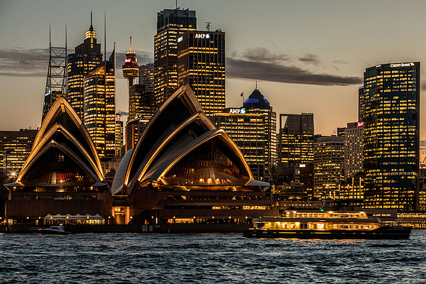 Electricity Usage in Sydney As Energy-Rich Australia Ends Up With Worlds Priciest Power Photograph by Bloomberg