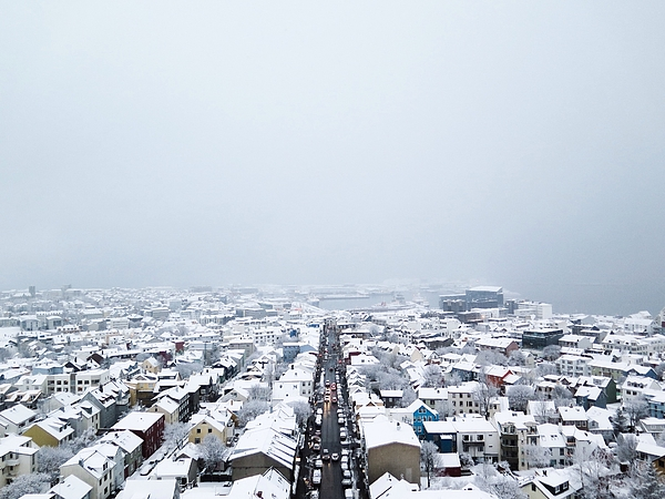 Elevated View Of Houses In Town Photograph by Mads Bjerre / EyeEm