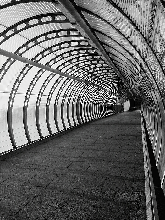 Empty Walkway Covered With Arch Photograph by Jay Bhagat / EyeEm