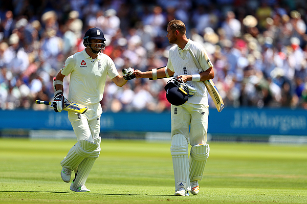 England v South Africa - 1st Investec Test: Day Two Photograph by Clive Rose
