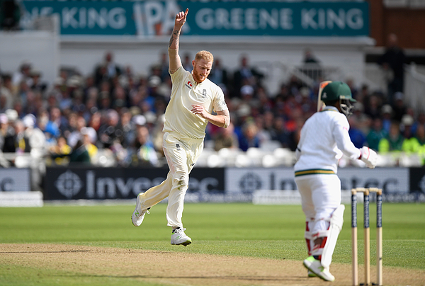 England v South Africa - 2nd Investec Test: Day One Photograph by Stu Forster