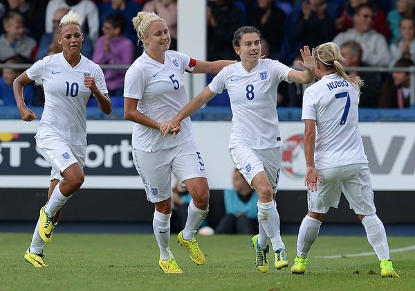 England v Sweden: Womens International Friendly Photograph by Nigel Roddis