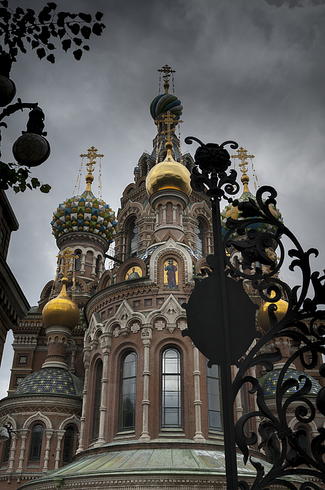 Entrance of the Church of the Saviour Photograph by Fotosearch