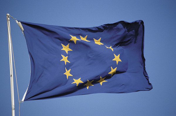 European flag Photograph by Image Source
